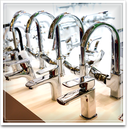 Picture of faucets